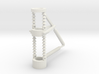 PRR CATENARY Round pole 1 phase 87 curved outside 3d printed