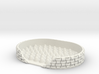 basket weave soap dish 3d printed