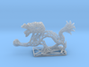 Dragon with Icosahedron 3d printed