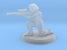 Hooded Female Sniper (28mm Scale) 3d printed