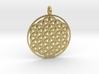 Flower of Life Sacred Geometry pendant approx 30mm 3d printed