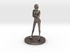Girl Model (28mm Scale Miniature) 3d printed