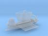 Roman warship liburna / liburnian 3d printed