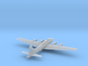 Boeing B17 Flying Fortress - Zscale 3d printed