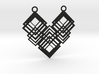 Geometrical necklace no.1 3d printed