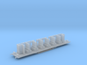 HBVC - Victorian Railways BV Carriage Chassis 3d printed