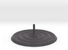 Ripples Incense Stick Holder 3d printed