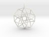 4D Archimedean Hyperform Toroidal Projection w rin 3d printed