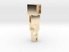 Square balance pendant 3d printed