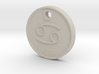 Cancer Aromatherapy Pendant 3d printed