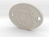 Throat Chakra Aromatherapy Convertible Pendant 3d printed