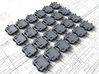 """1/72 Royal Navy 18""""x24"""" Window Hatches Closed x24 3d printed 1/72 Royal Navy 18"""" x 24"""" Window Hatches (Closed) x24"""
