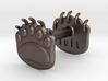 Teddybear clawed-paw wax seal 3d printed