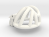 """Cherry Keeper """"Headlock"""" Cage - Short Wide 3d printed"""