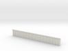 1:285 Quay Wall Sheet Piling H20mm 3d printed