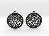 Aria earrings 3d printed