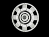 Iron Man Mark IV Arc Reactor (1 of 2 parts) 3d printed