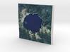 Crater Lake, Oregon, USA, 1:75000 Explorer 3d printed