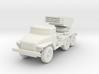 Miniature BM-21 3d printed