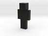 allblack | Minecraft toy 3d printed