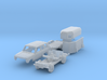 SET Pferdetransport (N 1:160) 3d printed