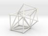 Goldner-Harary graph 3d printed