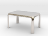 1:50 - Miniature Modern Dining Table  3d printed