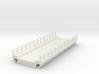 N Bridge Deck 120mm W45 3d printed