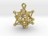 Stellated Vector Equilibrium Cuboctahedron Sacred  3d printed
