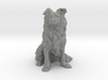O Scale Border  Collie 3d printed This is a render not a picture
