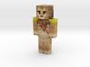 Lionka   Minecraft toy 3d printed