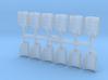 Shoulder Pads Overlap Delta 2 3d printed