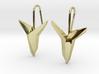 YOUNIVERSAL Asymetric  Earrings 3d printed