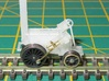 N Gauge Stephenson's Rocket Loco Scratch Aid V1 3d printed Example of coupling rod construction.