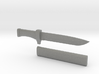 1-3rd Scale Shiki Ryougi Knife and Sheath 3d printed