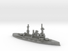 German Deutschland-Class Battleship 3d printed