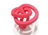 Lio Large  3d printed Red Ring