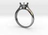 0.5 carat diamond ring 3d printed