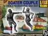 1/18 Recreation Boat Couple Set 2 3d printed