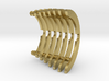 Heat Sink Fins (partial) for PP Starkiller 3d printed