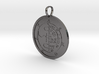 Asmoday Medallion 3d printed