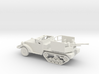 1/87 Scale M15A1 HalfTrack with 37mm AA Gun 3d printed