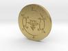 Furfur Coin 3d printed