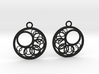 Geometrical earrings no.16 3d printed