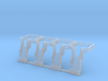 N Scale Tank Car loading Bridge 4x Up 3d printed