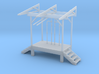 N Scale Fuel Dealer Truck Load Facility 3d printed