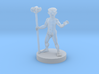 Naked Gnome Wizard 3d printed