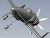 1/220 scale Kyushu J7W1 Shinden WWII fighters x 3 3d printed