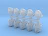 28mm Space elf web jumper heads 3d printed