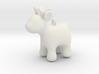 Cartoon deer keychain 3d printed